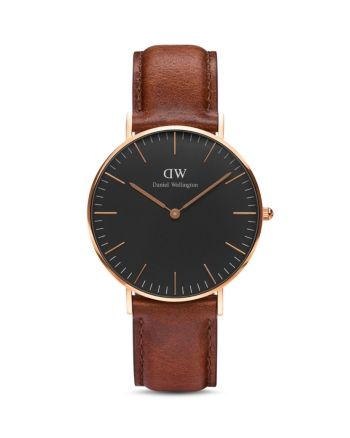 Daniel Wellington Classic St. Mawes Watch, 36mm – Black/Brown