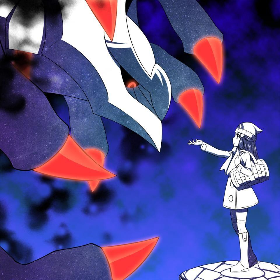 Giratina Platinum: Pókemon Legendarios