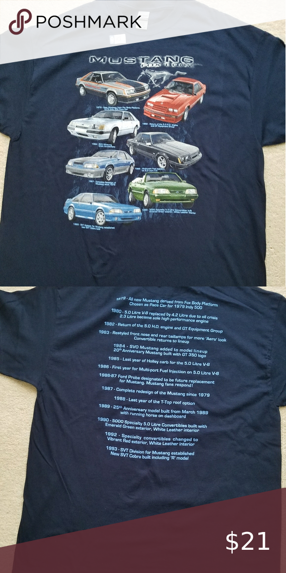 Licensed Ford Mustang T Shirt In 2020 Mustang T Shirts T Shirt Shirts