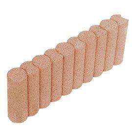 Bordure Colonnade Droite Saumon 50 X 20 Cm Ep 6 5 Cm Bordure