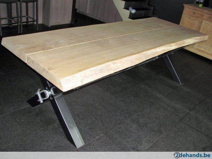 Tafel Van Boomstam : Eiken boomstam tafel te koop. home decoration pinterest