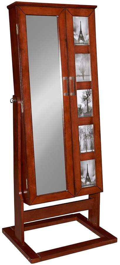 jewelry armoire 5 opening frame cheval floor mirror in 2018 rh pinterest com