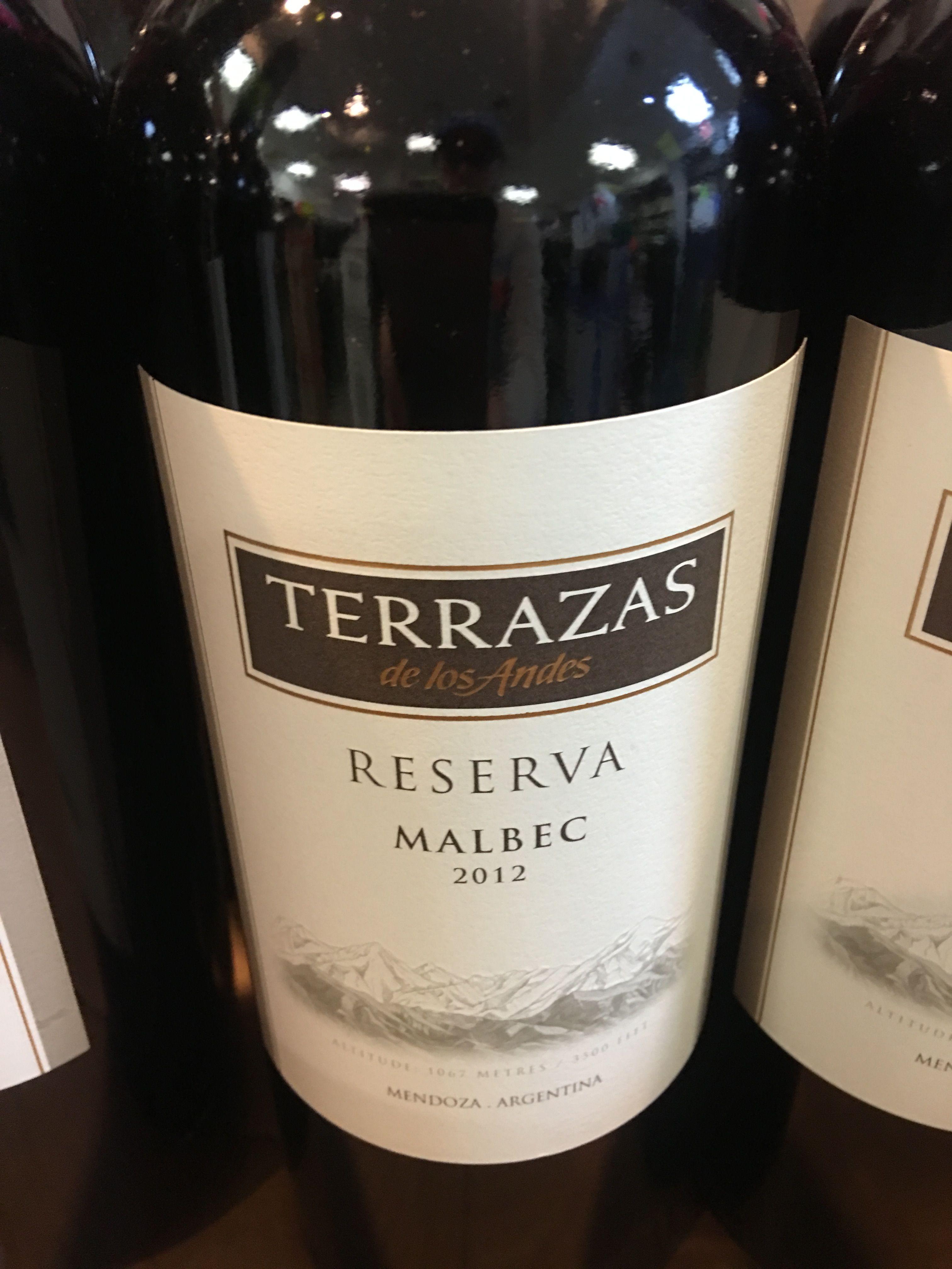 Terrazas Wines Bottle Wine