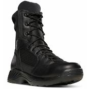 "Danner® 28030 Kinetic 8"" Black Lightweight durable boot for law enforcement officers."