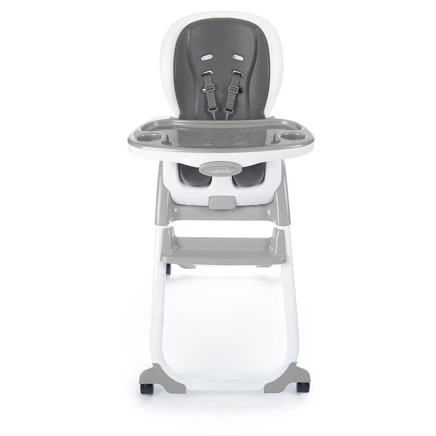 Ingenuity Smartclean Trio Elite 3 In 1 High Chair Aqua