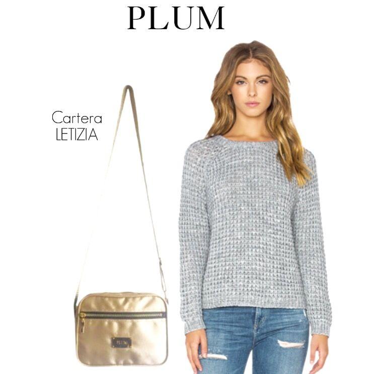 Carteras de moda y cuero para mujeres en PLUMSHOPONLINE.COM Leather and fashion womens handbags #bags #bag #moda #clutch #outfit #crossbody morral beige letizia