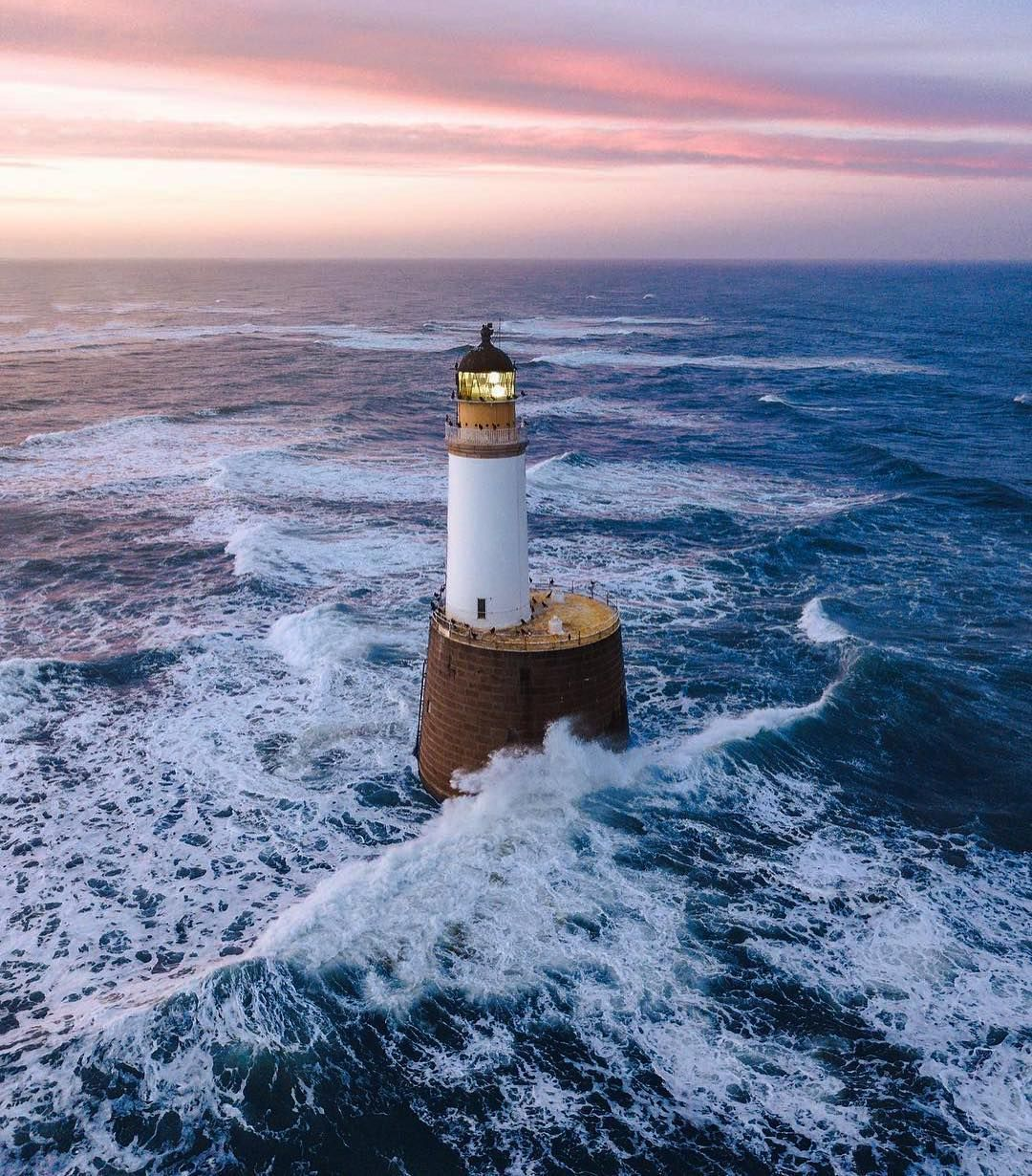 Loving This Moody Scotland Lighthouse Shot From Recurring