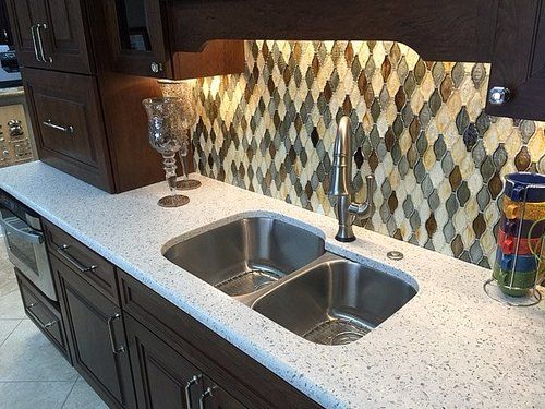 Curava recycled glass countertops stone surfaces woburn for Curava countertops