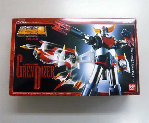 Soul of Chogokin GX-04 UFO Robo Grendizer  New in box New in box  http://www.newactionfigures.com/2016/02/04/soul-of-chogokin-gx-04-ufo-robo-grendizer/