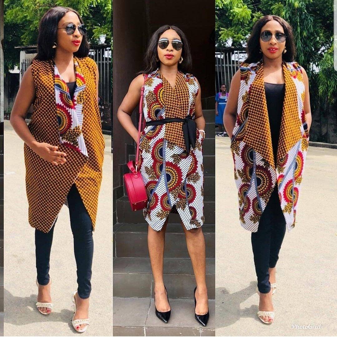 Roupas Afros Femininas, Costurando