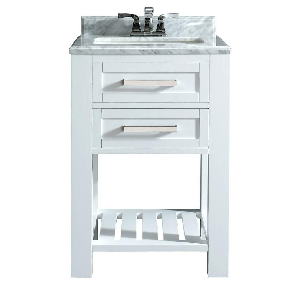 home decorators collection paige 24 in w x 22 in d bath vanity in rh pinterest com