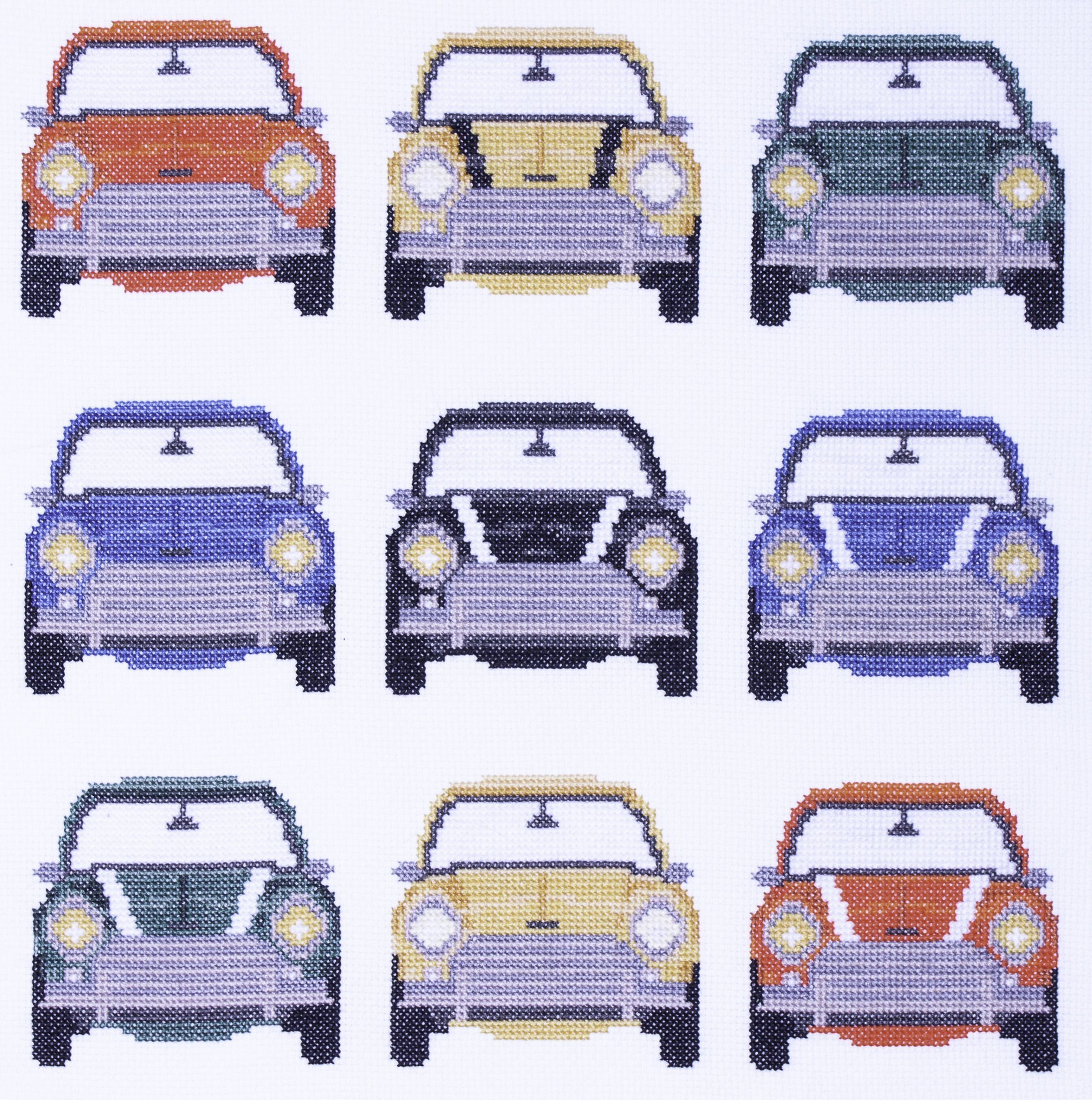 Minis galore in a square formation – perfect for a cushion! Reasons you need this kit Great as a gift for a car enthusiast (stitched or unstitched) Square design – perfect for a cushion Stitch in front of the TV for relaxation Kit contents Because you're investing your time, we invest in the highest quality …