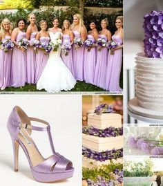 Lilac Wedding Party   Google Search
