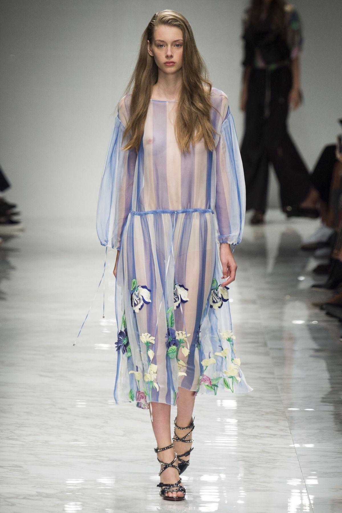 Blumarine spring/summer 2016 women's wear.