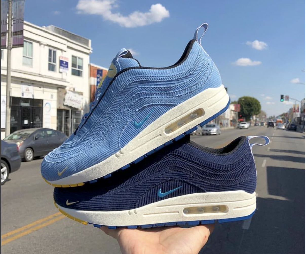 Sean Wotherspoon Teases Potential Color Ways of His Nike Air Max 1 ...