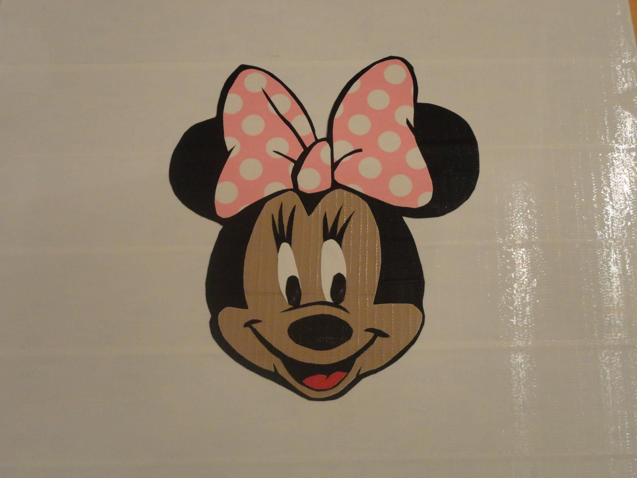 Disney Minnie In Duck Tape Go To Duck Tape Art