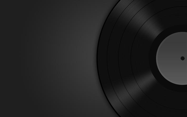 Download wallpapers vinyl music concept vinyl record for Minimal art zusammenfassung
