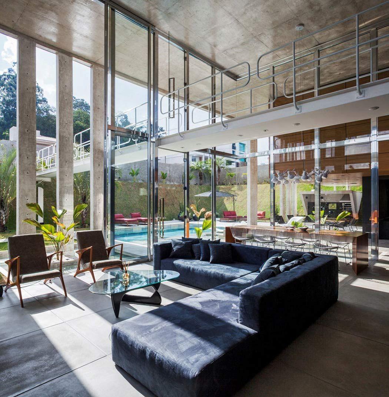 Contemporary Botucatu House by FGMF Arquitetos