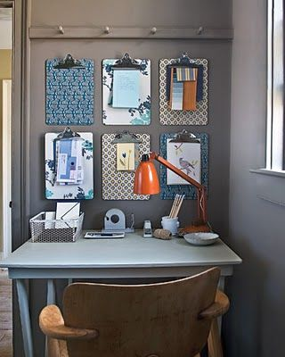 good idea instead of a bulletin board home decor much more rh pinterest com