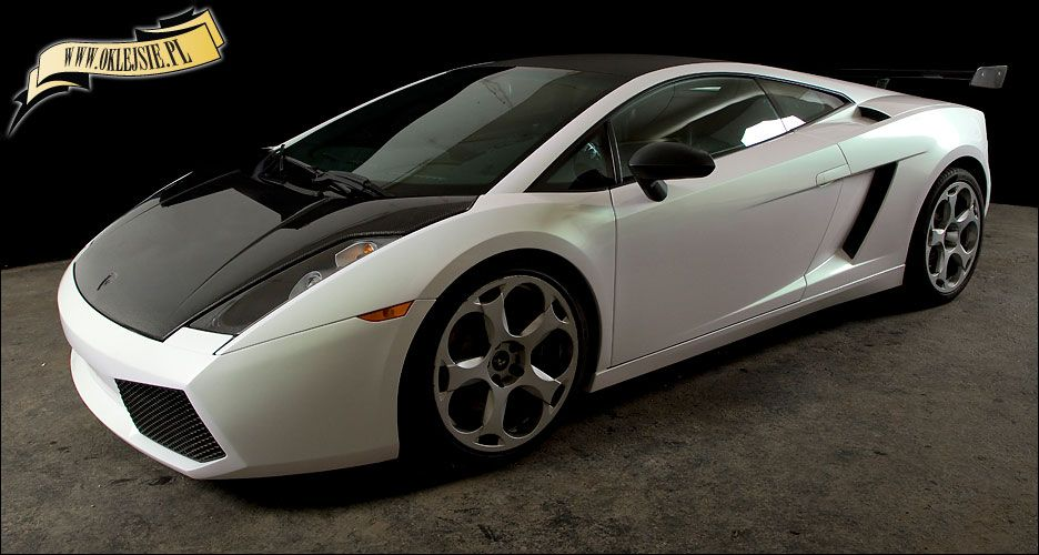 Best Lamborghini Gallardo In White Pearl Lamborghini Biała 640 x 480