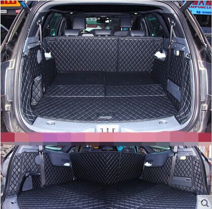 Car Travel Brand Special Trunk Mats For New Ford Everest 7seats