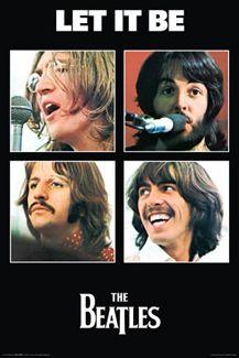fffd1d0d The Beatles LET IT BE Album Cover Art Poster   Album Cover Art ...