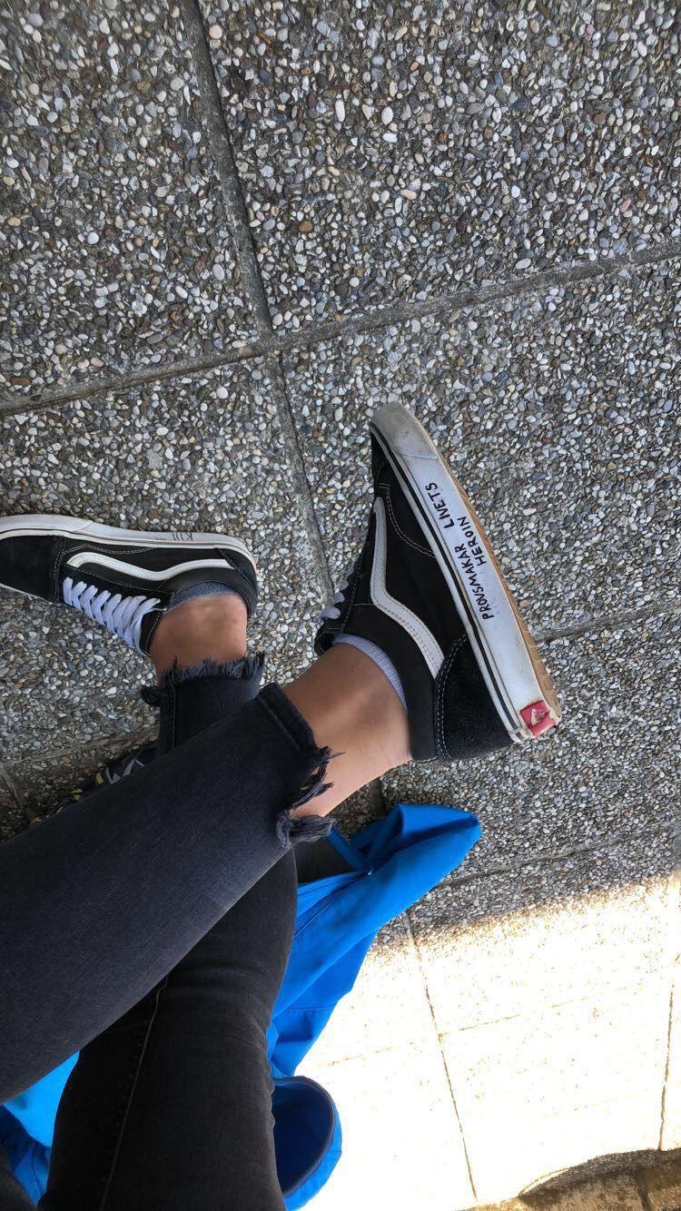 8 ottime idee su Scritte sulle scrape   scarpe personalizzate ...