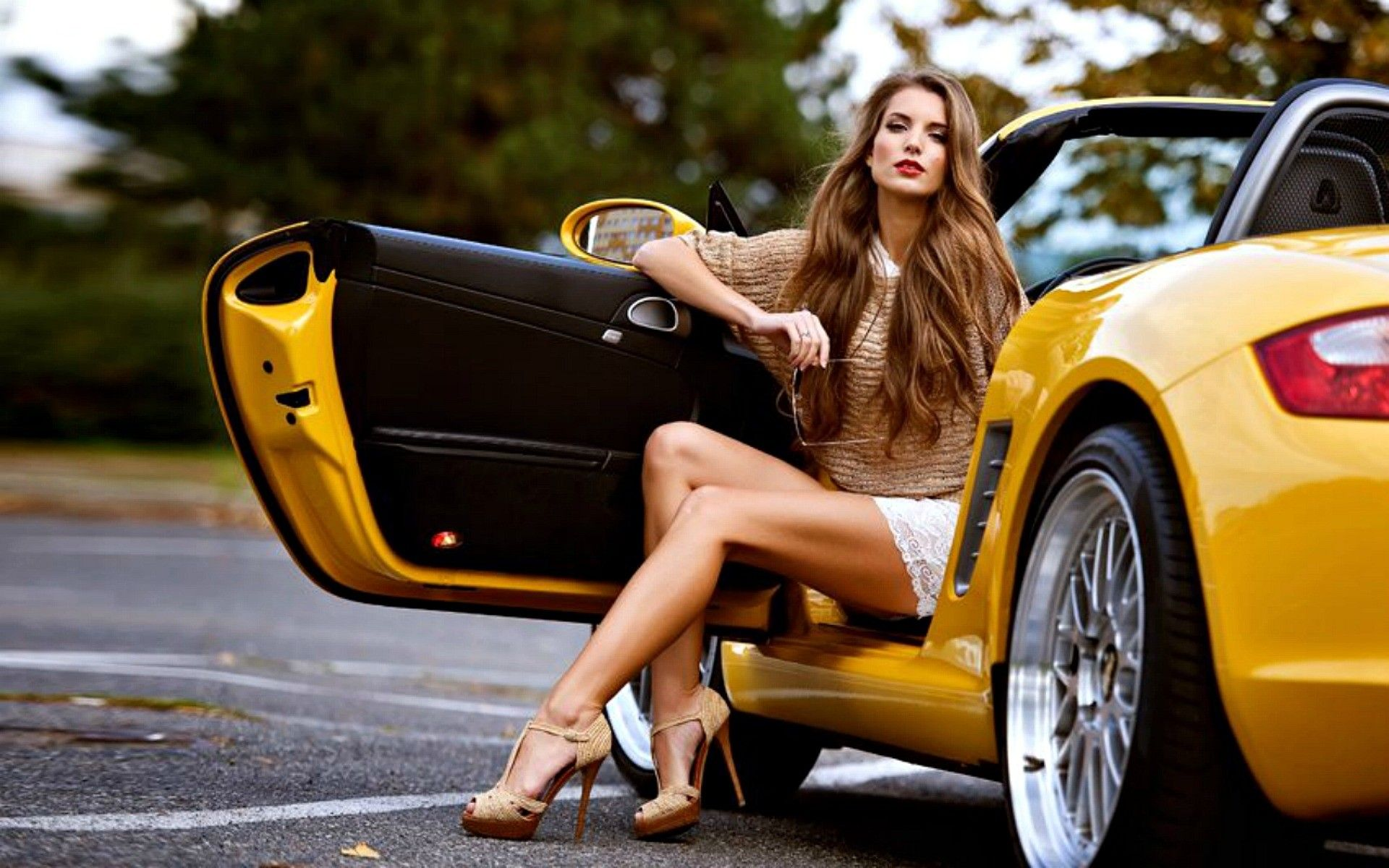 Long Sexy Legs and Cars   Wallpaper Car with Long Legged ...