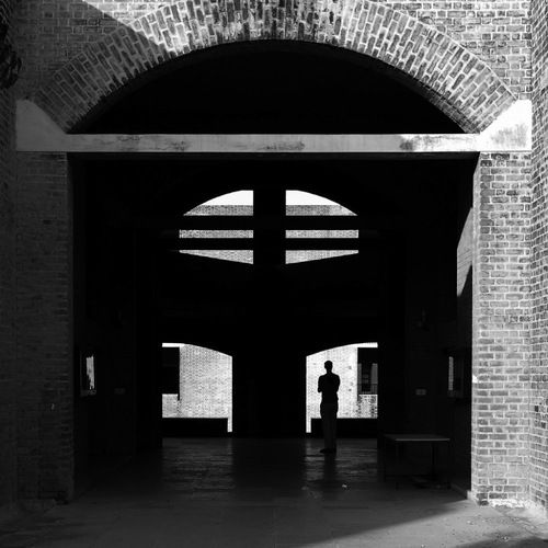 Louis i kahn indian institute of management ahmedabad - Beruhmte architektur ...