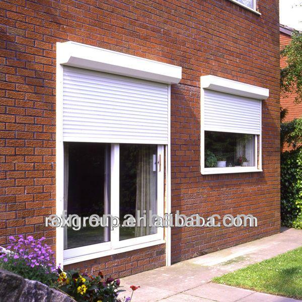 Safe Metal Roll Up Windows Shutter Profile Buy Pvc Window