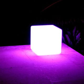 publiclight cordless waterproof led color changing lighting cube rh pinterest ca