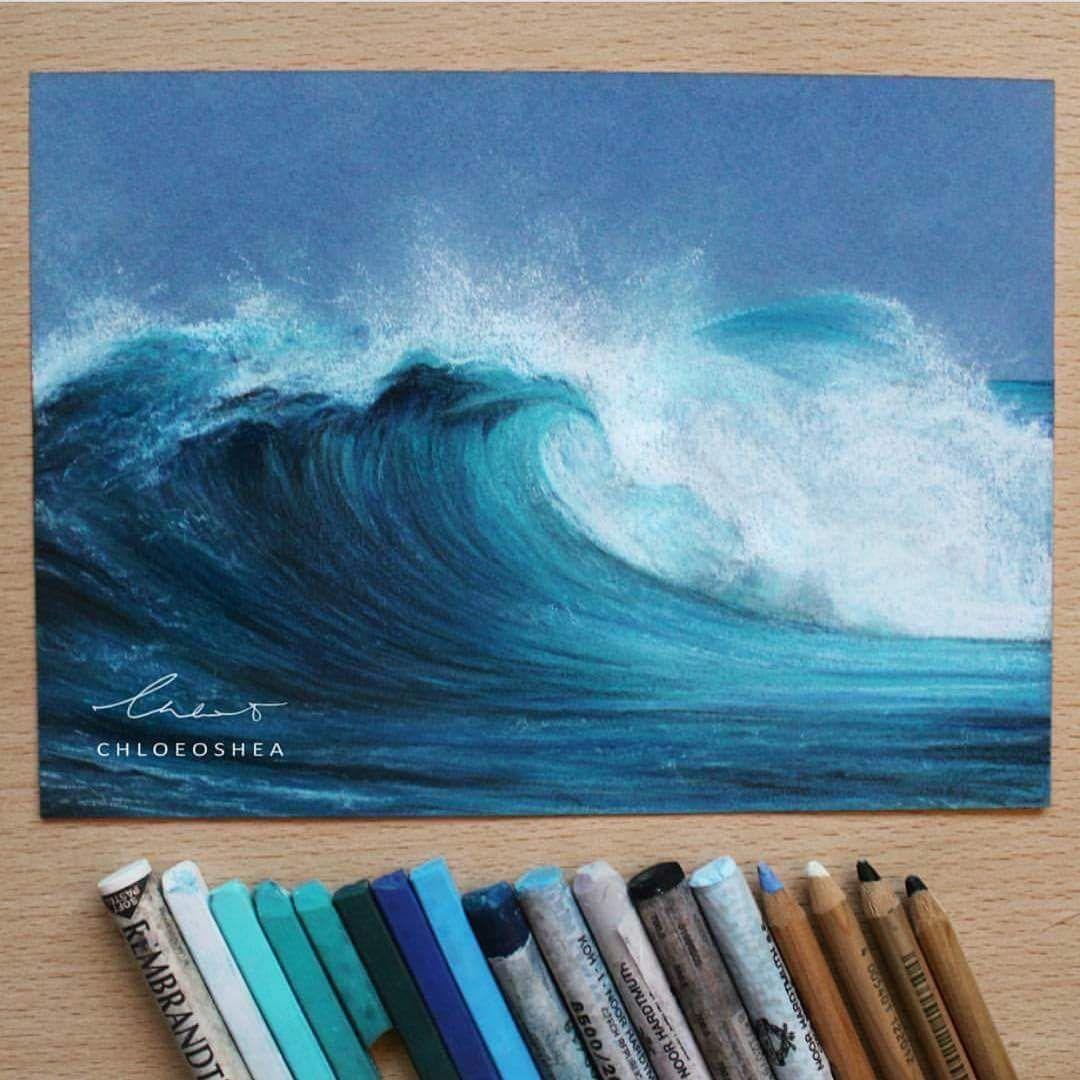 Art, Art Painting, Pastel Art