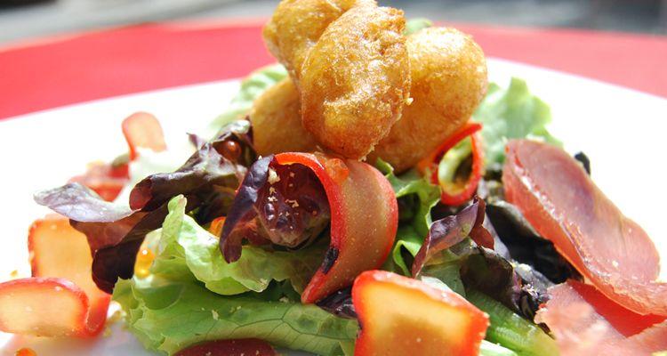 #CasaSantoña @Casasantona http://fullcircle.casasantona.com/recetas/ensalada-templada-de-salazones/