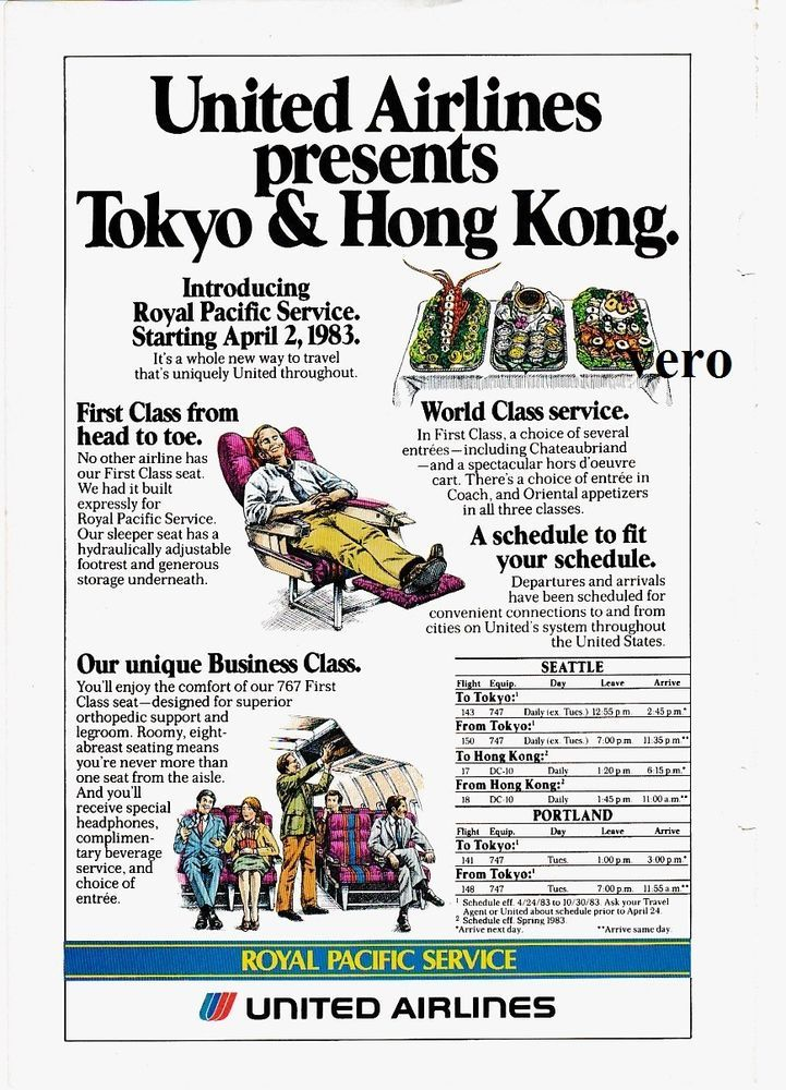 united airlines magazine ad clipping print page airline royal rh pinterest com