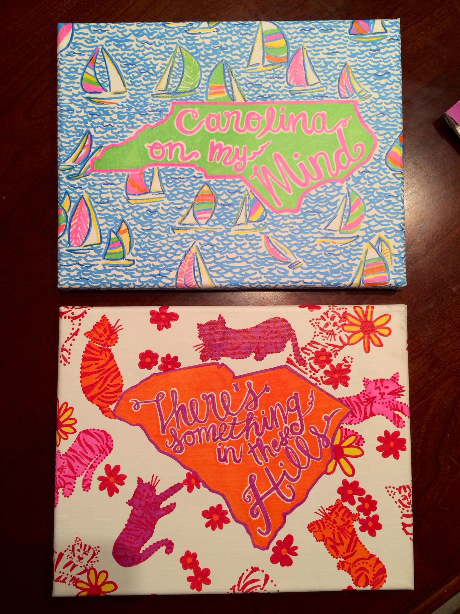 Diy dorm crafts with sharpie paint pens north carolina for Paint pens for wood crafts