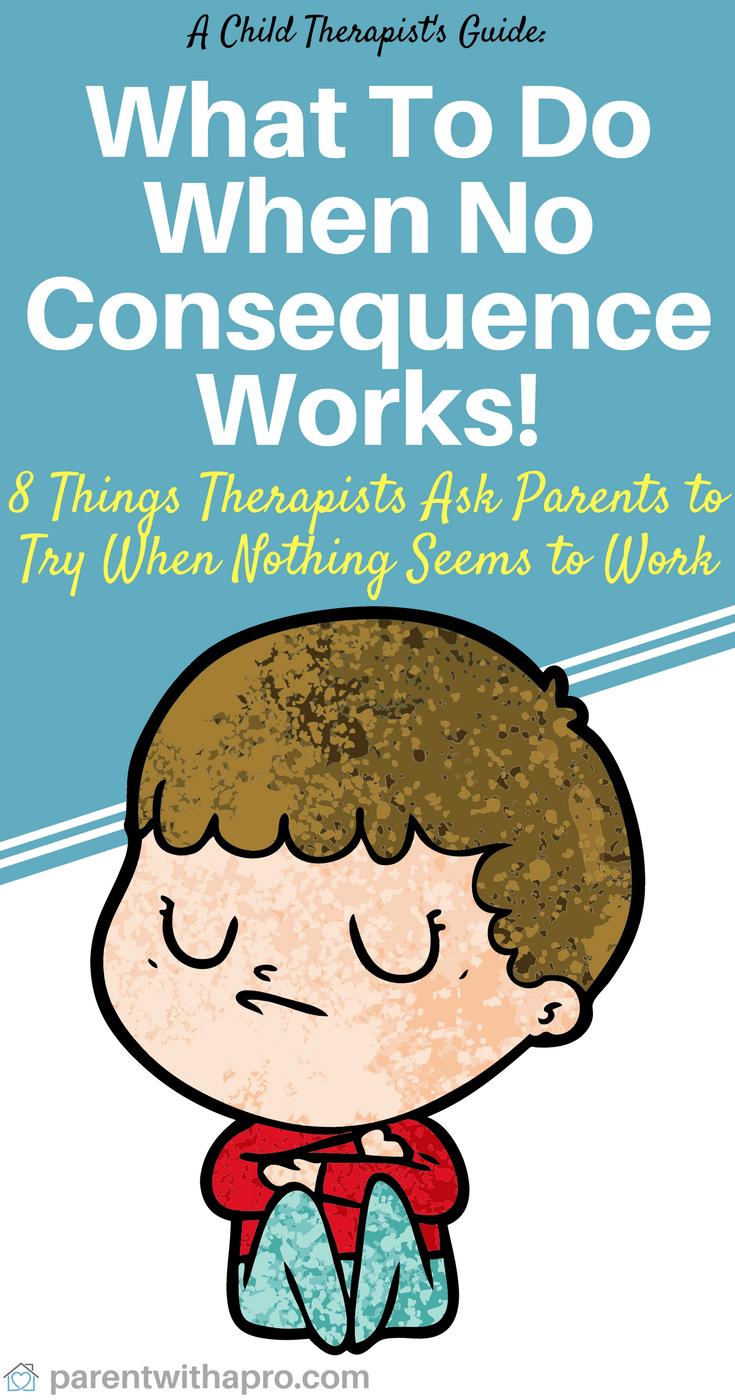 Episode 055: No Consequence Works. What Do I Do No
