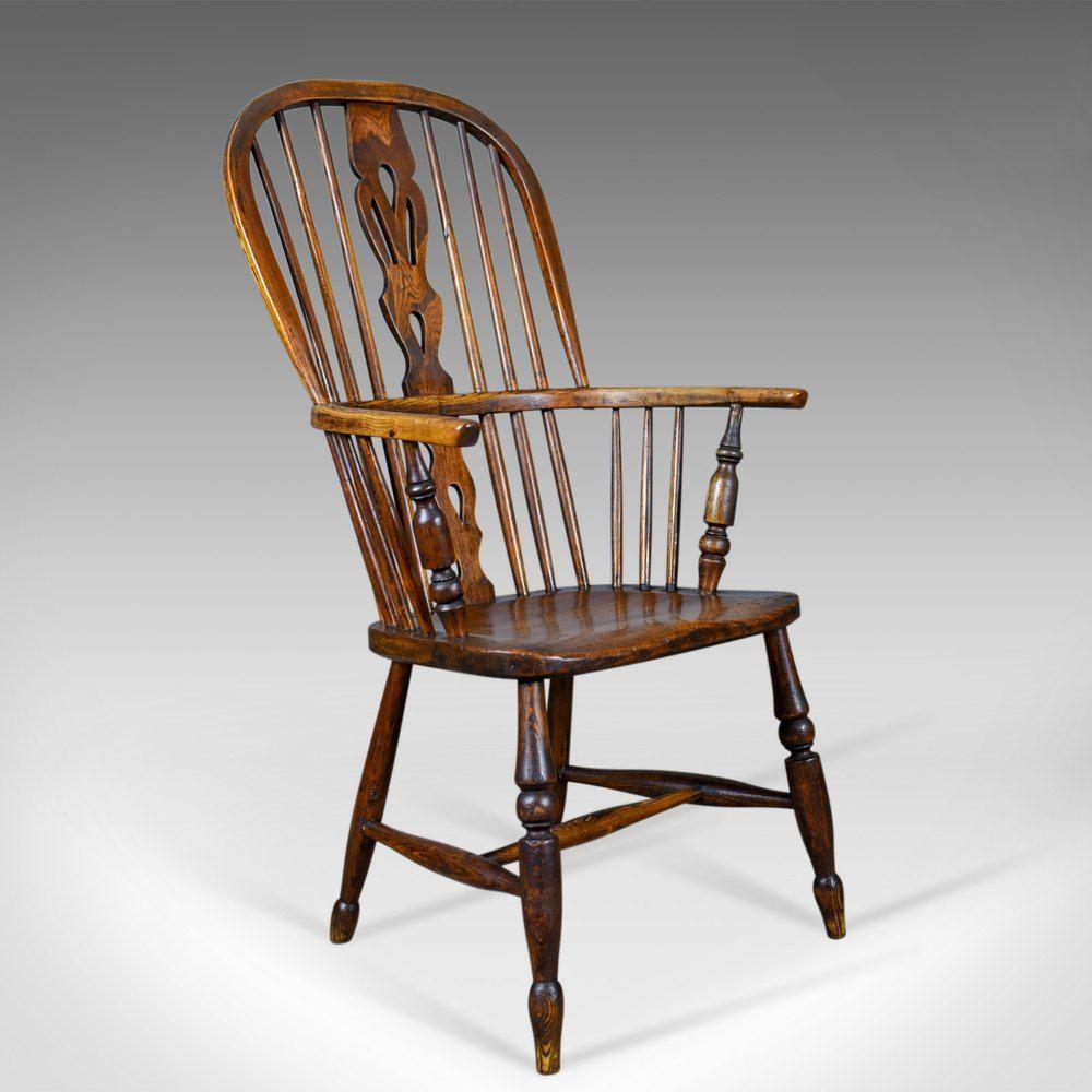 antique windsor armchair english victorian antique country rh pinterest com
