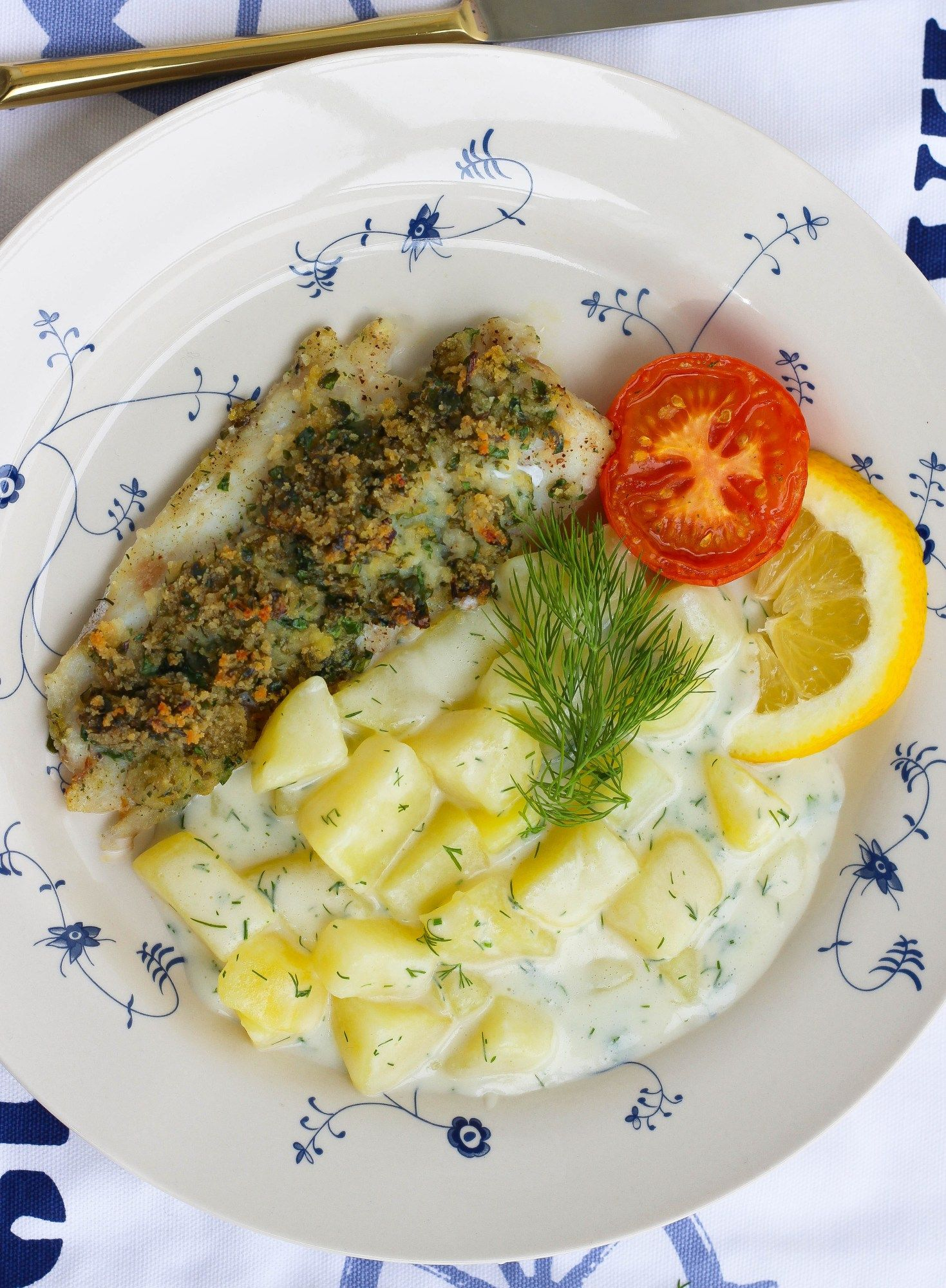 Dillstuvad potatis med persiljefisk ZEINAS KITCHEN