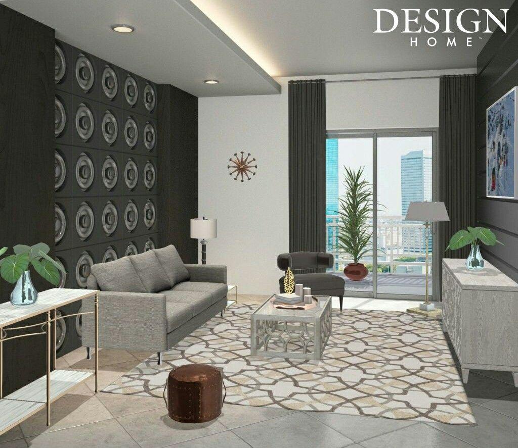 136 407 Living Room Stylish Modern Luxury