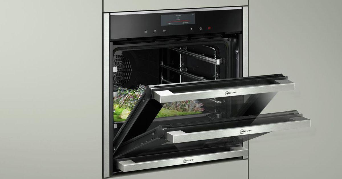 Neff Slide Hide Oven Wall Kitchen
