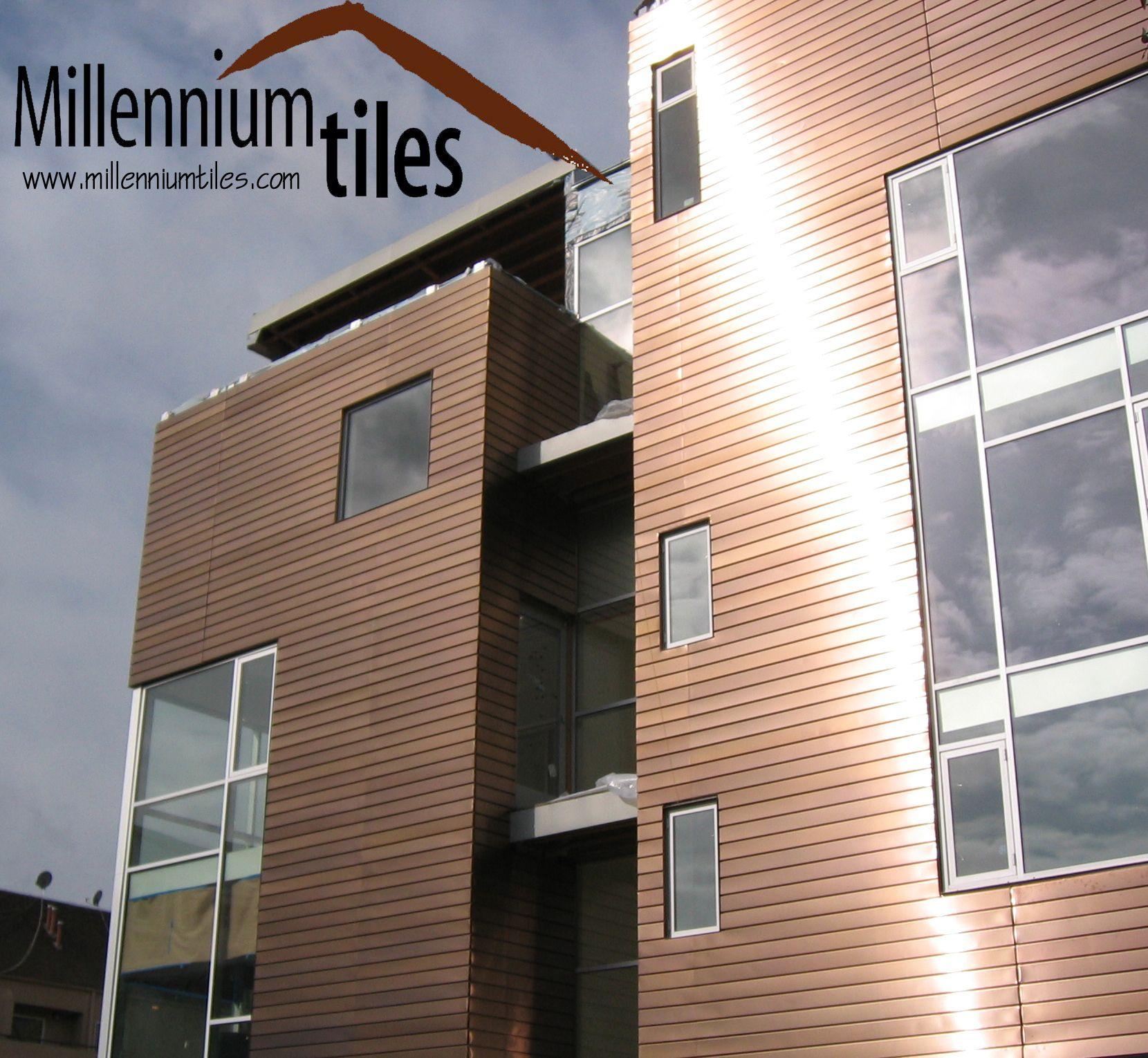 Millennium Tiles Building Materials Facade Construction Facades