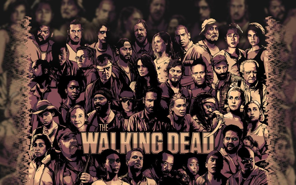 Wallpaper of the walking dead for fans of the walking dead the the walking dead wallpaper the walking dead voltagebd Choice Image