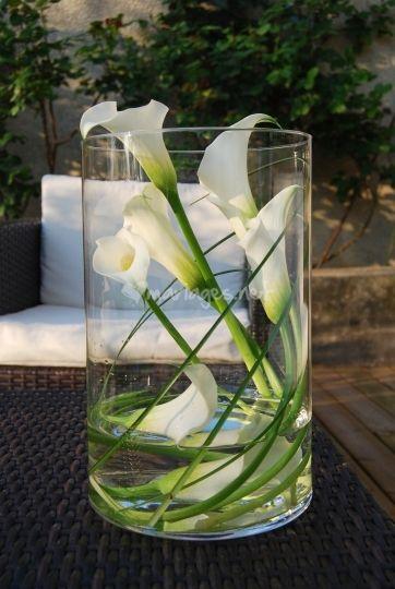 Centres De Table Avec Vases Et Fleurs Un Centre De Table Pour Vos