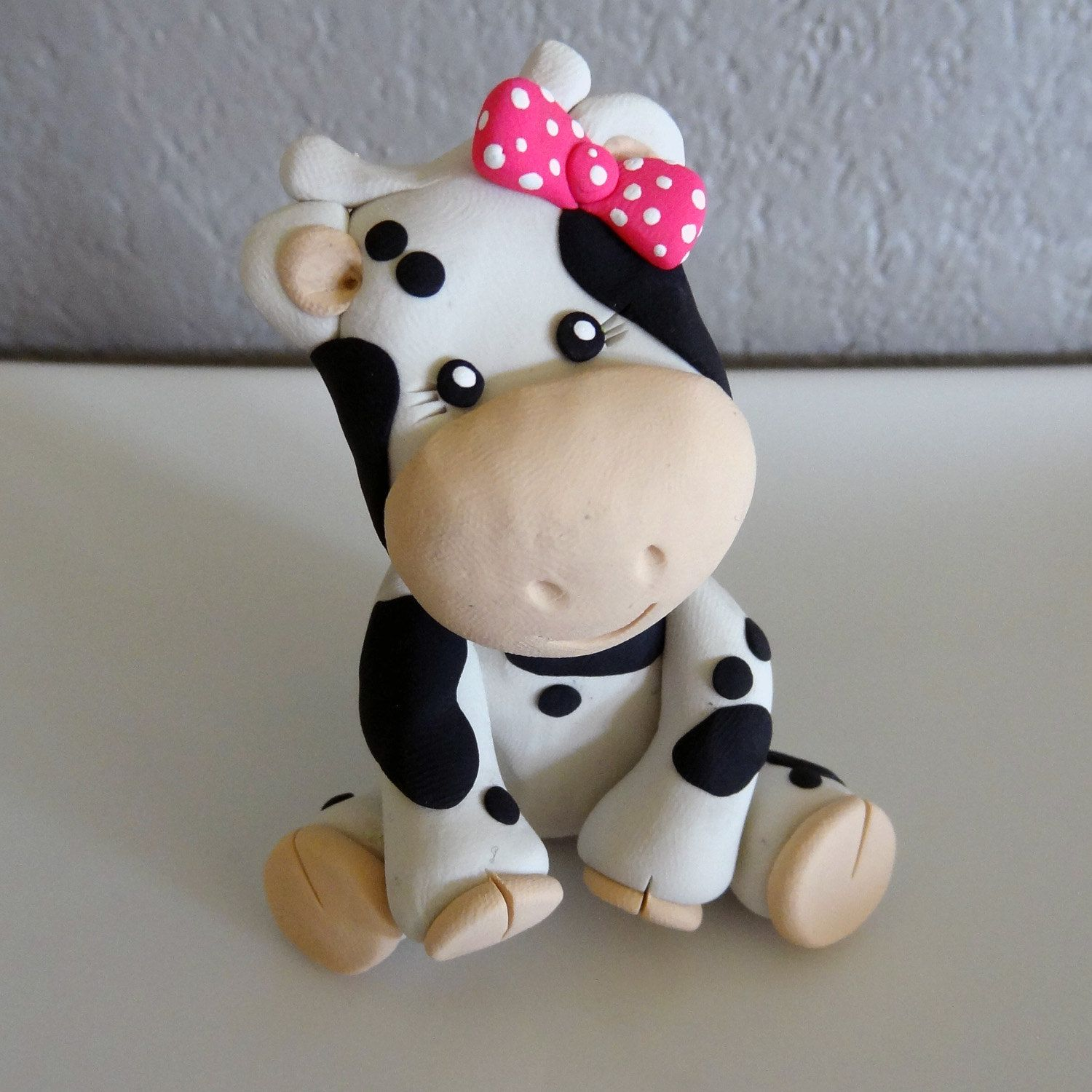 Cow Cake Topper For Birthday Or Baby Shower Cows