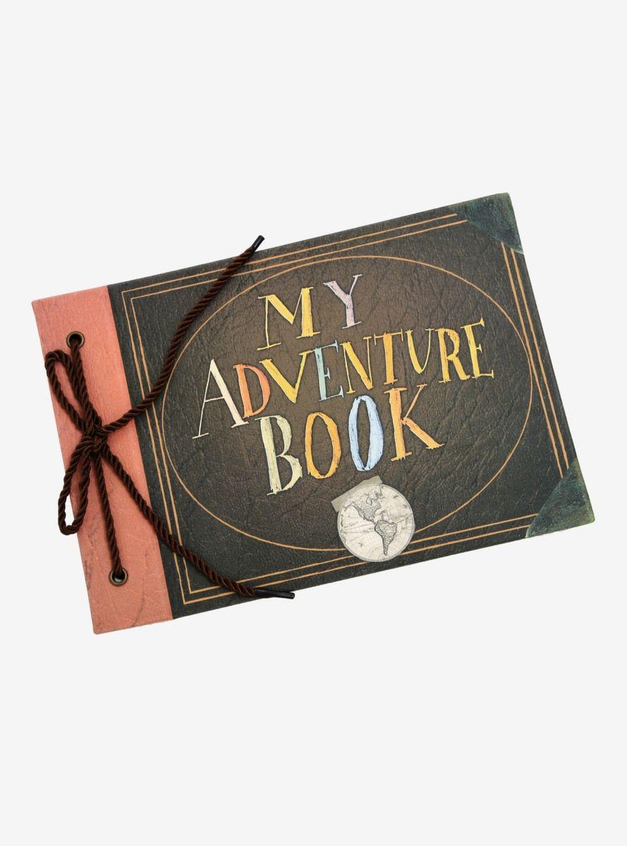 Disney Pixar Up Adventure Book Journal - BoxLunch Exclusive #disneypixar