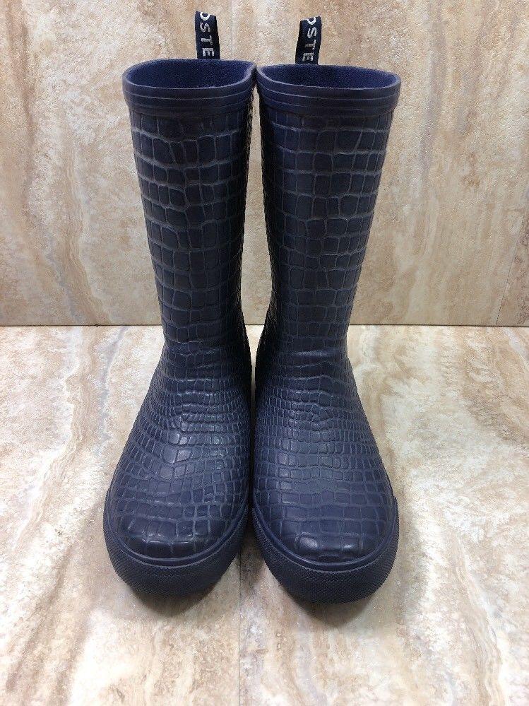 Lacoste Waterproof Rain Boots Blue
