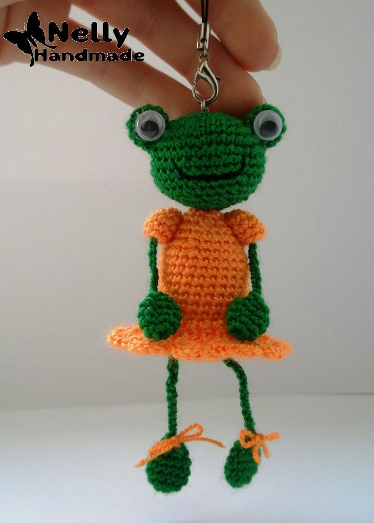 Nelly Handmade: Лягушка. Описание | МК | Pinterest | Amigurumi ...