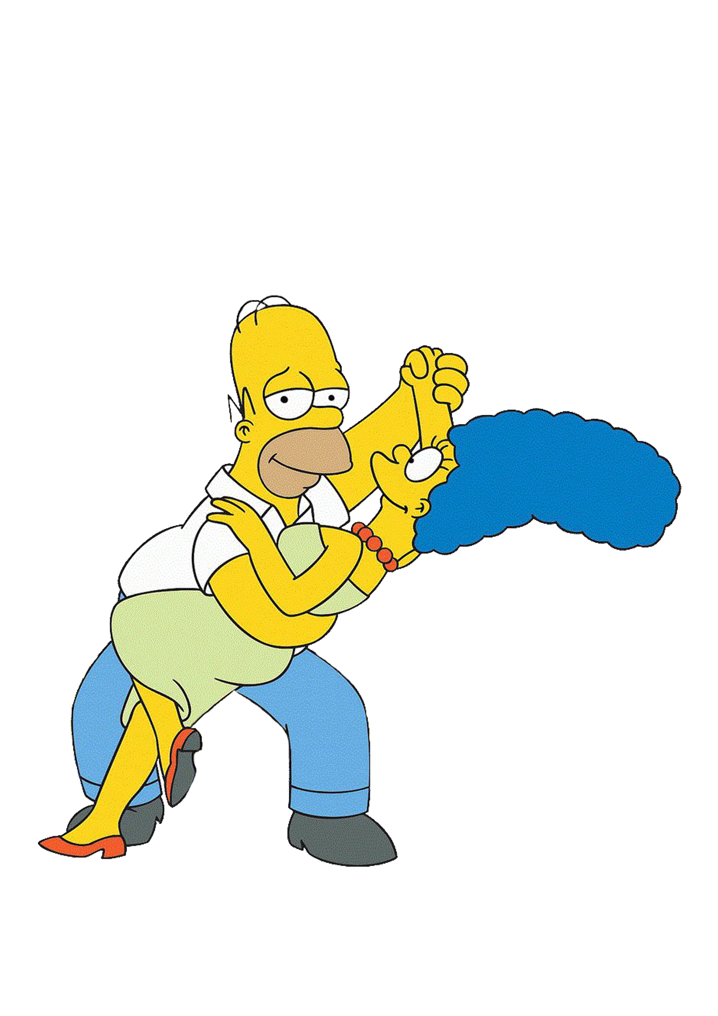 Homer marge simpson 100 binge tv favourites in 2019 homer marge the simpsons bart simpson - Marge simpson et bart ...