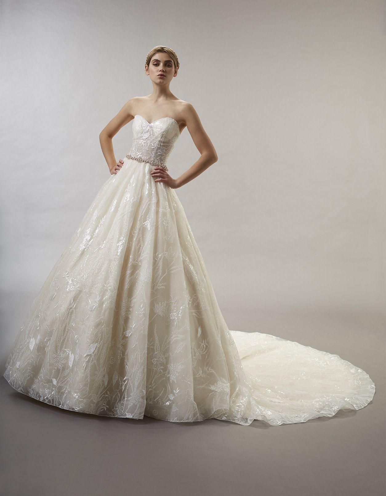 Fairytale like ball gown wedding dress style name
