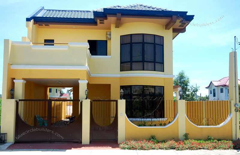 2-Storey Simple Home Design Philippines house Pinterest - simple house designs